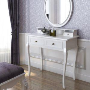 schminktisch wei wei e schminktische g nstig kaufen. Black Bedroom Furniture Sets. Home Design Ideas