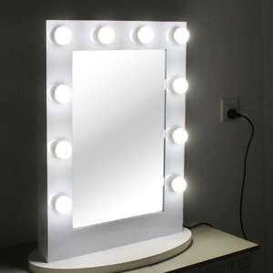 Spiegel mit beleuchtung für schminktisch  Schminktisch mit Beleuchtung - Licht für deinen Schminktisch