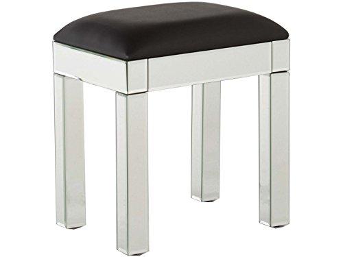 gfw the furniture warehouse venezianische dessing tisch hocker mit klaren spiegel finish. Black Bedroom Furniture Sets. Home Design Ideas